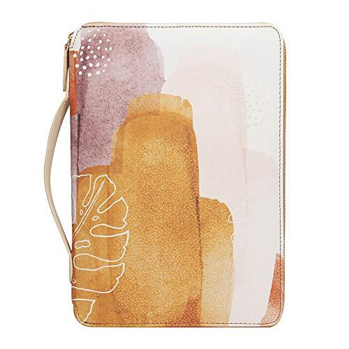 AUVCAS Travel Portfolio Organizer Zipper Portfolio Bag with Handle Waterproof Portfolio Case for Kindle Fire HD 6/7/8 Tablet Pen Business Card Headphone Charger Invoice