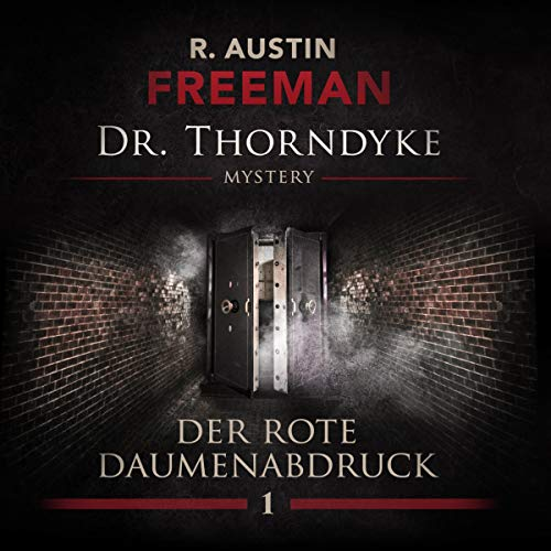 Der rote Daumenabdruck audiobook cover art