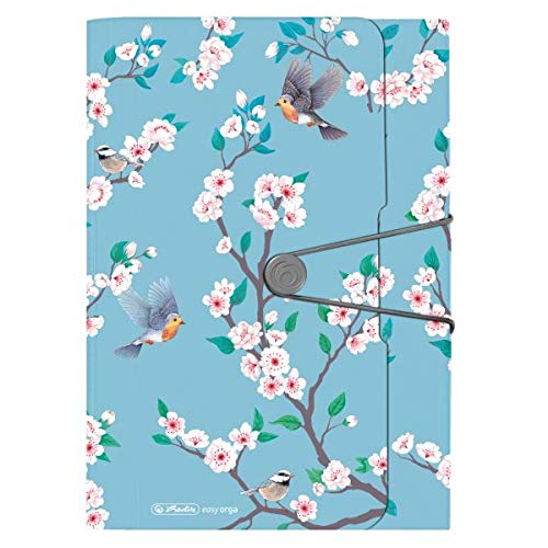 Fächermappe Ladylike Birds, 12 Fächer...
