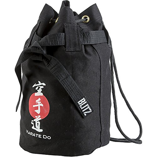 Blitz Karate Discipline Seesack, Schwarz, Einheitsgröße
