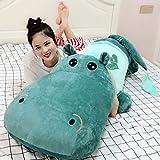 HUOQILIN Jouets en Peluche Hippopotame Mignon, Jouets Géants/Gros Doux, Animaux en Peluche, Oreiller en Peluche Câlin Oreiller Animal en Peluche (Color : 3, Size : 160cm)