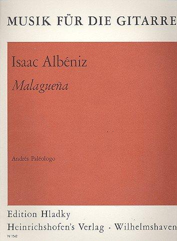 Malaguena Musik für die Gitarre