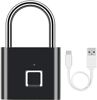 SXXYTCWL Valise Smart Lock High-Tech Cryogenic Traitement Thermique d'empreintes digitales Valise sans clé, étanche for Ho...
