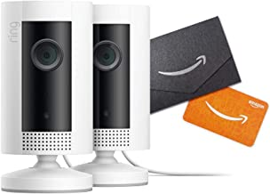 Introducing Ring Indoor Cam 2-Pack with Amazon.com $20 Gift Card