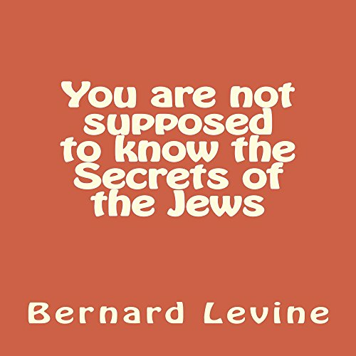 You Are Not Supposed to Know the Secrets of the Jews audiobook cover art