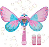 Magic Bubble Wand Blower, Musical Light Up Butterfly Bubbles Toy for Kids, Party