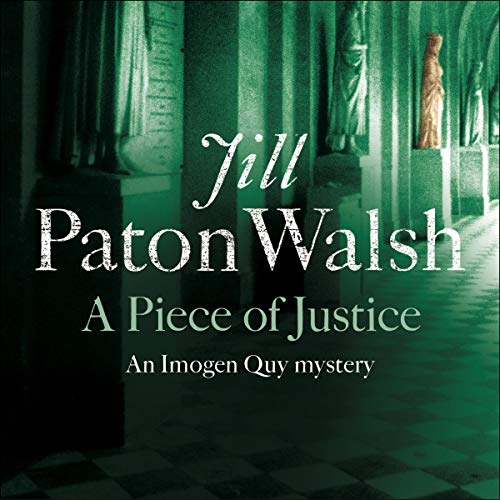 Couverture de A Piece of Justice