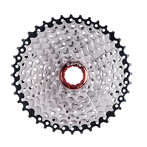 HXYIYG Rueda Libre 9s Cassette Freewheel 11-40T 9 Velocidad Flywheel Sprocket Cassette Flywheel Piezas de Bicicleta PiñóN Cassette (Color : 9s 11 40t)