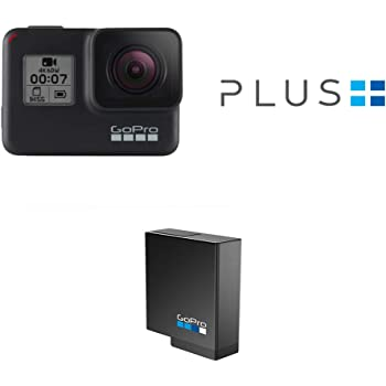 GoPro HERO7 Black — Waterproof Digital Action Camera with Rechargeable Battery and GoPro Plus