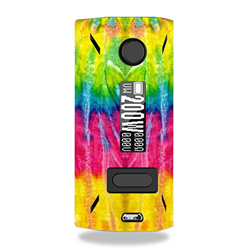 MightySkins Skin Compatible with Smoant Battlestar 200W - Tie Dye 2 | Protective, Durable, and Unique Vinyl Decal wrap Cover | Easy to Apply, Remove, and Change Styles | Made in The USA