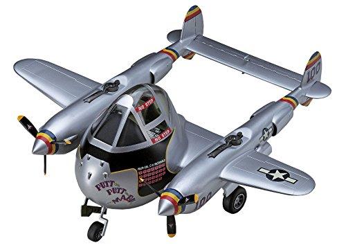 "Hasegawa ""Egg Plane P-38 Lightning Model Kit"