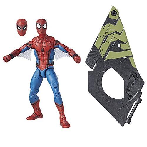 Marvel Legends Spider-Man Homecoming Movie Spider-Man Action Figure (Build Volo dell' avvoltoio Gear), 15,2cm