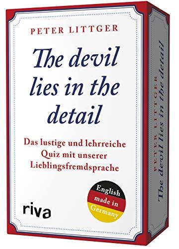 The devil lies in the detail: Das lustige und lehrreiche Quiz mit unserer Lieblingsfremdsprache