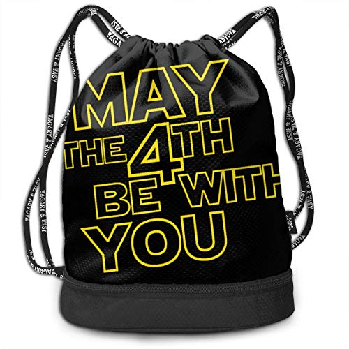 Rucksäcke,Sporttaschen,Turnbeutel,Daypacks, May The 4th Be with You Bundle Backpack Funny Travel Backpack