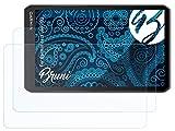 Bruni Schutzfolie kompatibel mit Garmin dezl LGV700 Folie, glasklare Bildschirmschutzfolie (2X)