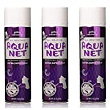 Aqua Net Extra Super Hold Professional Hair Spray Unscented 11 oz (3 Pack)