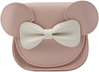 Pinky Family Cute Mouse Handbags Candy Color Cross Body Bags PU Leather Shoulder Bags