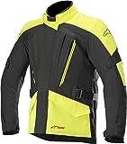 Alpinestars Chaqueta moto Volcano Drystar Jacket Black Yellow Fluo,...