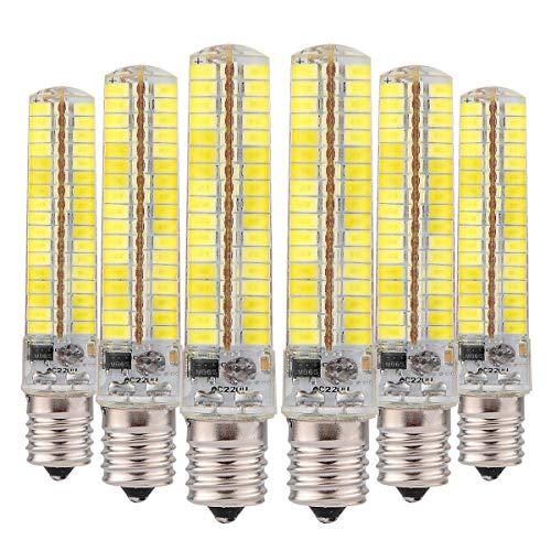 Bombillas LED Lámpara de ahorro regulable 5730 SMD 136LED Lámpara de silicona 10W (equivalente a 90W de halógeno) 6000K Las bombillas LED se pueden usar en la lámpara de jardín Iluminación de casa Ilu