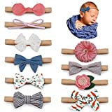 Salsie Baby Girl Headbands and Hair Bows For Newborn Infant...