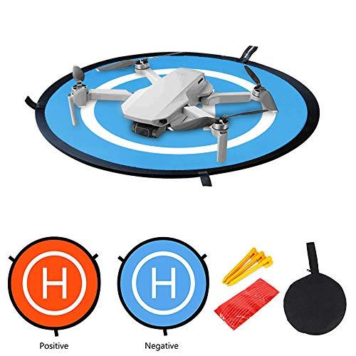 CUEYU Drone Landing Pad für DJI Mavic Mini Drone,55 cm Tragbare Faltbare Landing Pads für DJI Mavic Mini/Mavic 2 / PRO/Mavic AIR/Spark Drohne
