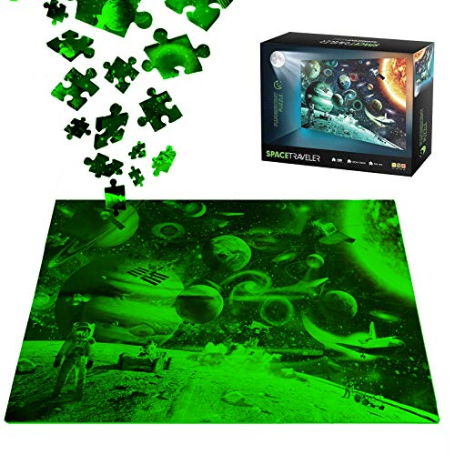 1000 pc glow in the dark puzzles - 9