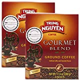 Trung Nguyen - Gourmet Blend - 500 Grams Box (2 Pack) | Vietnamese Coffee Whole Bean, Robusta and Arabica Gourmet Coffee Blend with Fruity Chocolate Overtones, French Roast with Low Acidity