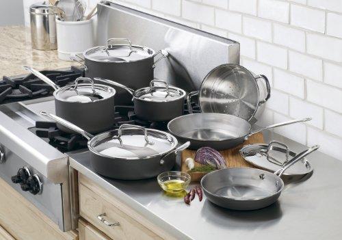 Cuisinart MCU-12 MultiClad Unlimited Dishwasher Safe 12-Piece Cookware Set