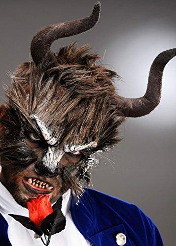 Die Beast Style Brown Hörner auf Stirnband