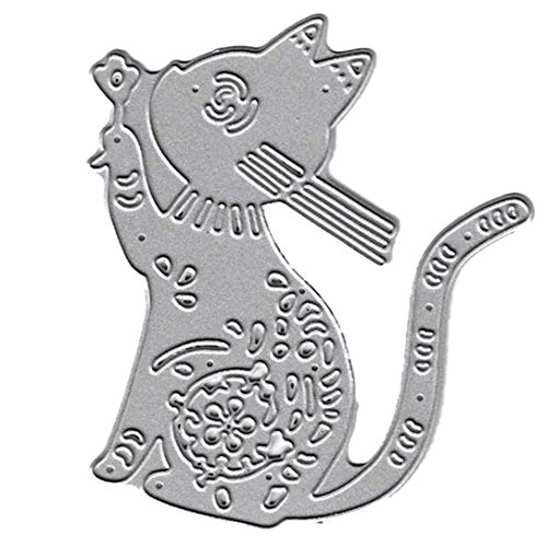 Arret Middleton Controlelampje 2020 kat wishing metalen stanssjabloon sjabloon scrapbooking album stempel DIY voor huis Een