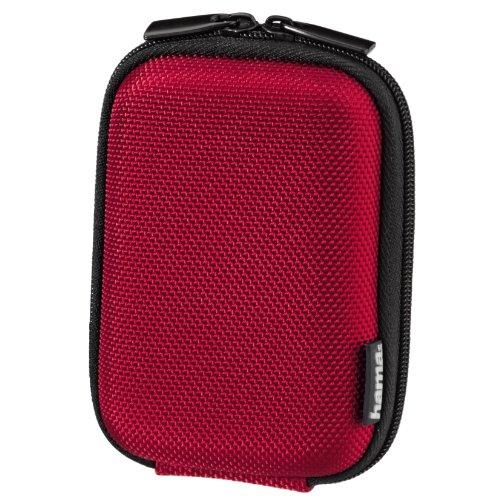 Hama Hardcase Carbon Style 40 G Kameratasche rot