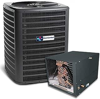 Goodman Direct Comfort 3.5 Ton 14 Seer Condenser with Horizontal Coil GSX140421 CHPF4860D6 TX5N4 (3/8 x 7/8 x 50' line Set)