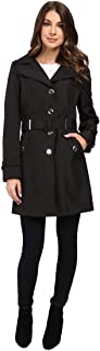 Womens Single Breasted Rain Trench
