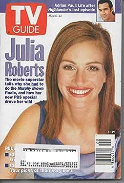 Tv Guide May 16-22 1998 Julia Roberts