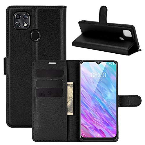 betterfon | Handyhülle ZTE Blade 10 Smart - Hülle Handy Tasche PU Leder mit Magnetverschluss/Kartenfächer für ZTE Blade 10 Schwarz