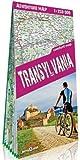 Transilvania. Rumanía. 1:250.000 mapa plastificado Terraquest. (ADVENTURE MAP)