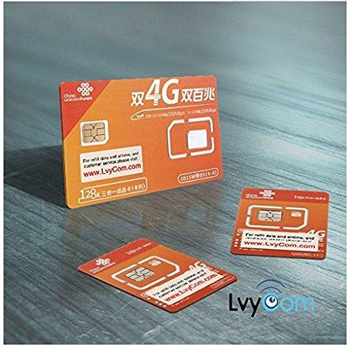China SIM Card 1GB 4G LTE data + 50 mins local calls or 100 texts,! Free Incoming Calls and Texts