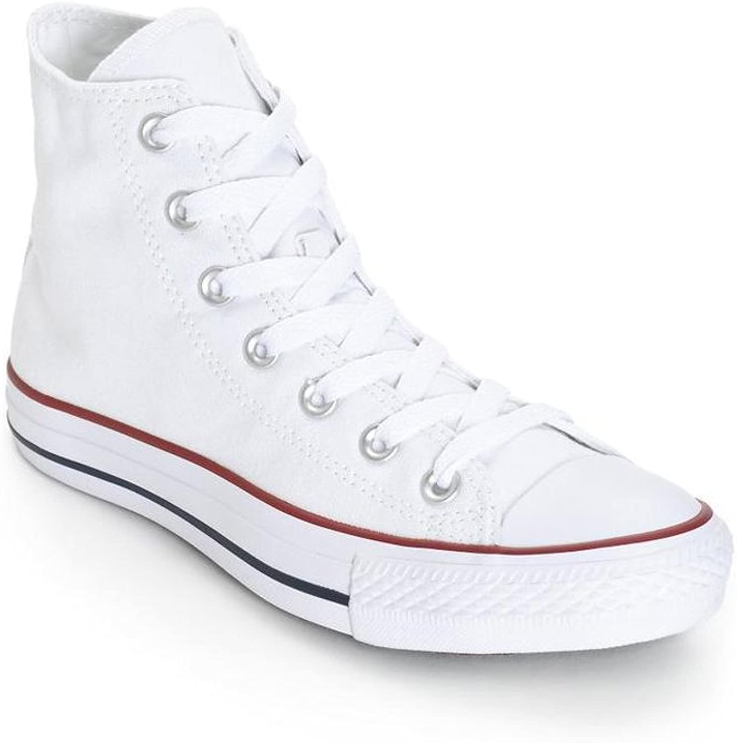 Converse Unisex Chuck Taylor All Star High Top Sneakers (6.5 (Men)   8.5 (Women) US, Optical White)