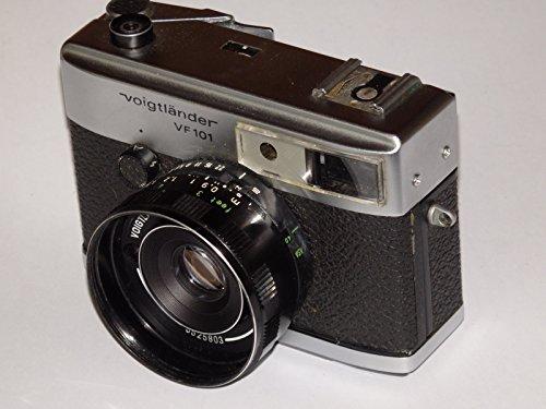 Voigtländer–Pantalla pequeña cámara VF 101–35mm fotos (para negativa: 24x 36mm)–Objetivo: de color Skopar 2,8/40–Analógico Visor Cámara # # técnica–OK–by lll # #