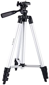 DIGIANT 50 Inch Aluminum Camera Phone Tripod+ Universal Tripod Smartphone Mount for Apple, iPhone Samsung and Other B...