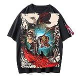 OUHZNUX Camiseta Monster Hunter, Jersey De Manga Corta De Juego Unisex, Sudadera Casual para Hombres Y Mujeres, Top De Calle De Moda(S-3XL)