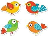 Carson Dellosa Boho Birds Shape Stickers (168120)