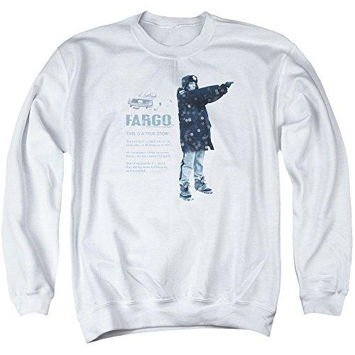 Fargo Herren Sweatshirt Gr. M, weiß