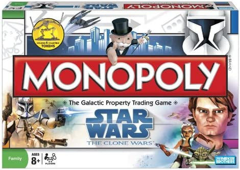 Cheap sale Star Wars The Monopoly New mail order Clone