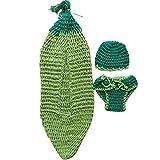 XFentech Bebé de los niños Saco de dormir lindo saco de dormir Crochet Knit...
