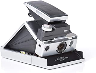 MiNT SLR670-s Instant Film Camera for Polaroid SX-70 and 600 films, Silver Body with Black Leather