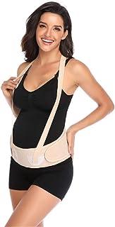 AM ANNA Maternity Belt with Shoulder Straps,Belly Band for Pregnancy Support Belt Back Support Protection