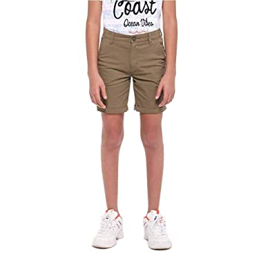 STOP by Shoppers Boys Solid Chino Shorts (206820455-P)