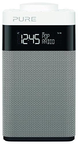 Pure Pop Midi Portable Numérique Noir, Argent, Blanc Radio Portable - Radios Portables (3,5 mm, AA, Portable, LCD, Numérique, Dab, Dab+, DMB-R, FM)