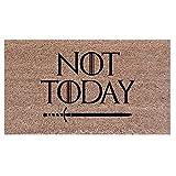 Felpudo Not Today Tronos